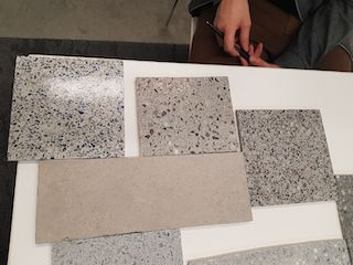 Match Terrazzo finish to other colors
